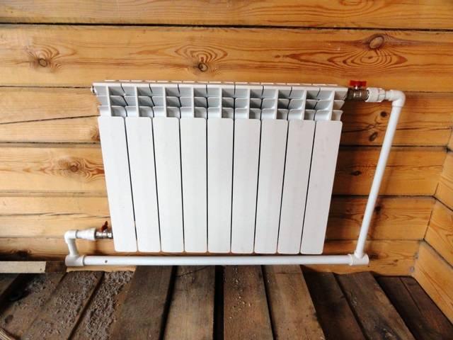 Как правильно установить радиатор отопления