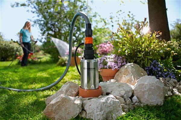 Насос для колодца с верхним забором воды