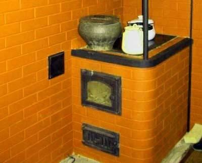 Печь варочная с духовкой