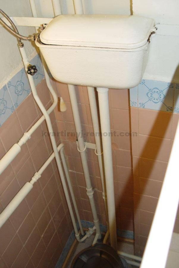 Чертеж туалета