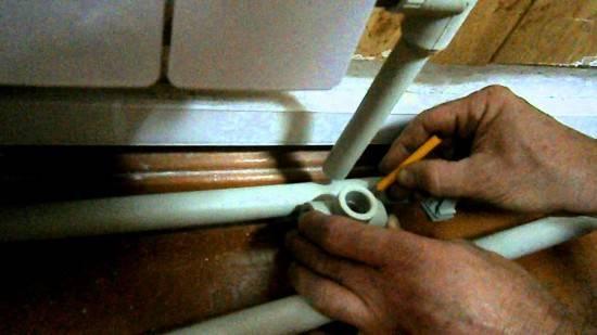 Как соединить металлопластиковую трубу с полипропиленовой