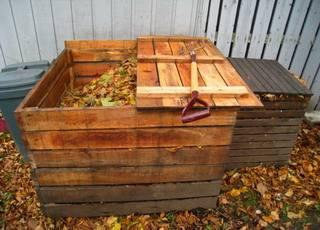 Как делать компостную кучу
