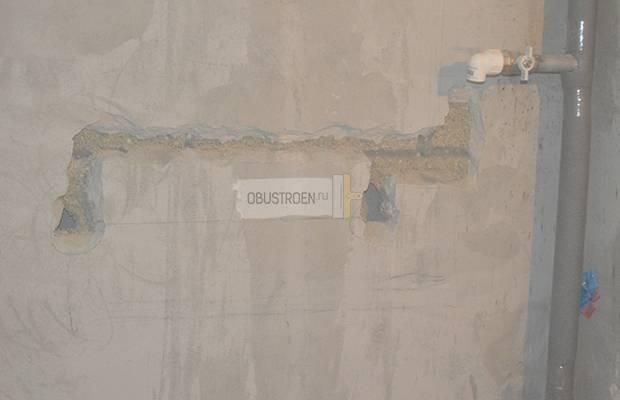 Установка электрического полотенцесушителя в ванной