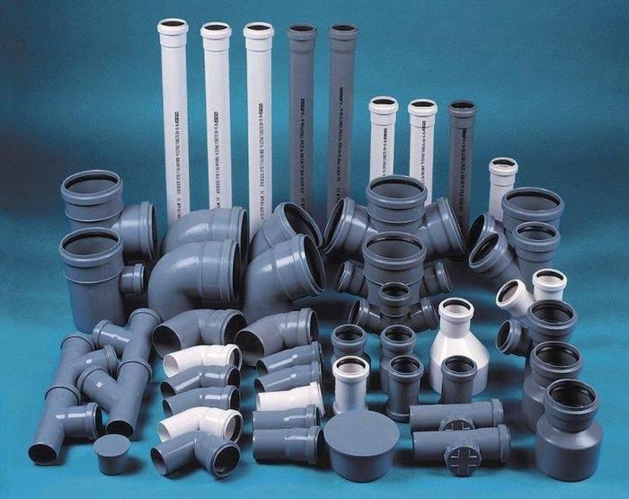 Пластиковые канализационные трубы и фитинги