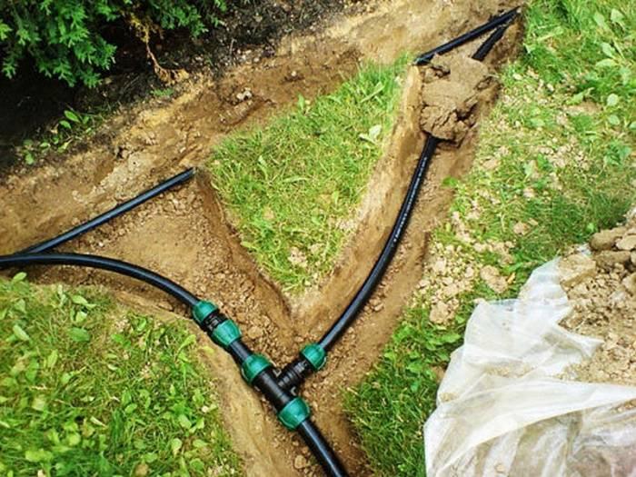 Полипропиленовые трубы для полива на даче