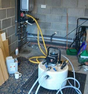 Установка для промывки системы отопления