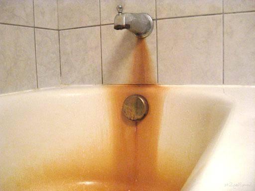 Как очистить воду от железа