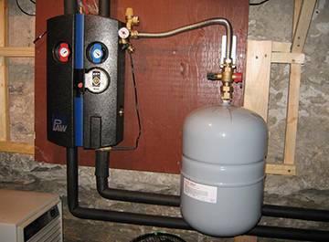 Расчет расширительного бака для закрытой системы отопления