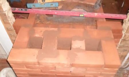 Печка на дровах своими руками из кирпича