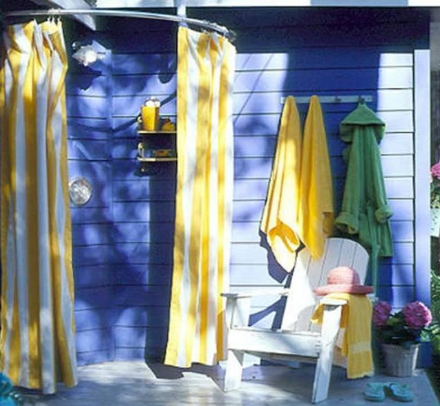 Уличный душ для дачи своими руками