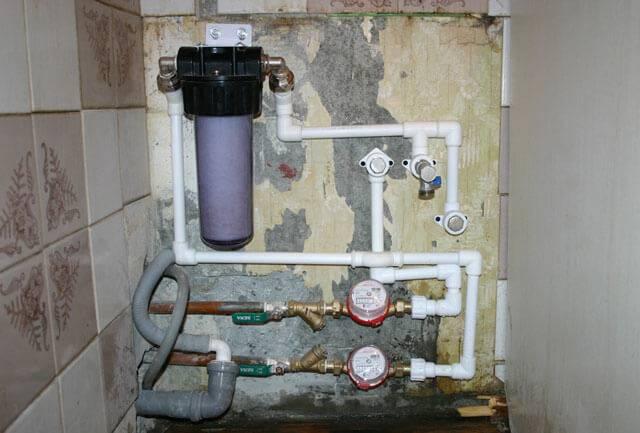 Водопроводный фильтр грубой очистки