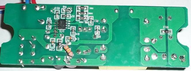 Схема драйвера светодиодного прожектора 50 ватт