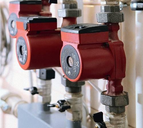 Схема подключения циркуляционного насоса в систему отопления