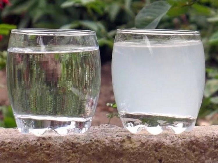 Вода из скважины мутная