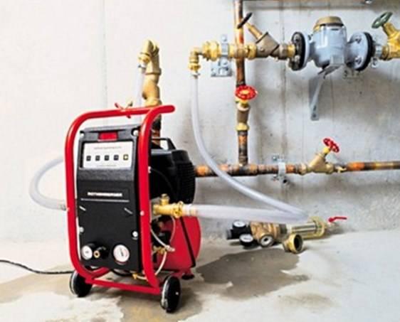 Правила промывки системы отопления многоквартирного дома