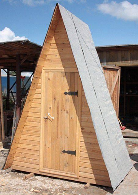 Строительство туалета на даче своими руками