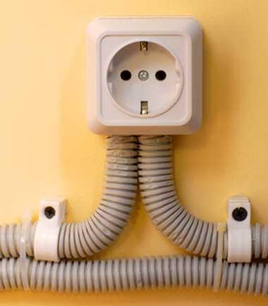 Электрическая проводка в частном доме