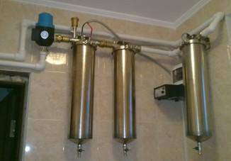 Фильтр грубой очистки для воды из скважины