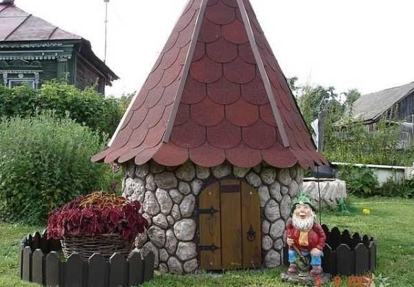 Крыша на колодец