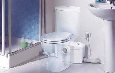 Туалетный насос измельчитель
