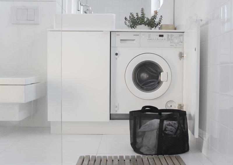 Высота машинки стиральной