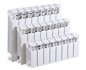 Размер секции биметаллического радиатора