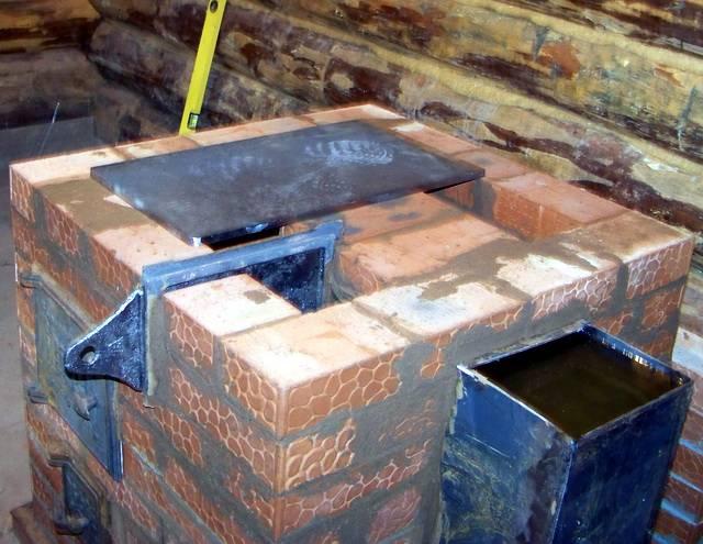Печка кирпичная для дома