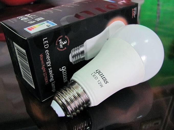 Марки светодиодных ламп