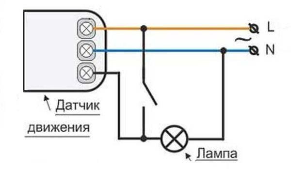 Как подключить светодиодный прожектор к сети 220