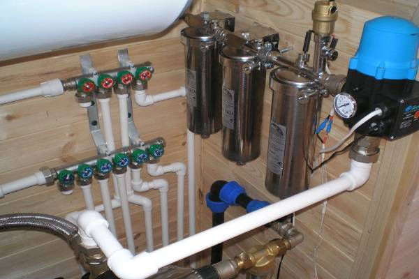 Фильтр для воды в ванную