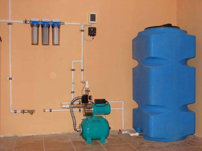 Водяной насос для повышения давления в квартире