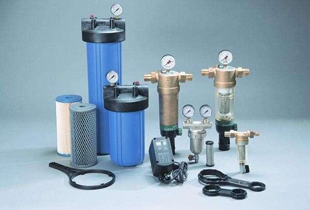Проходной фильтр для воды