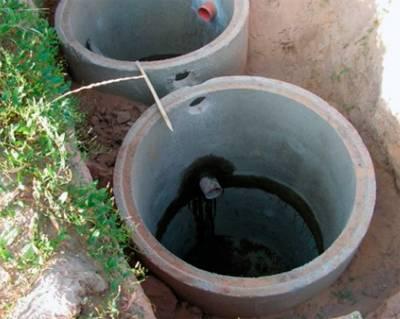 Гидрозатвор для бани