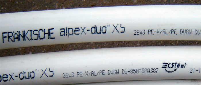 Обозначение полипропиленовых труб