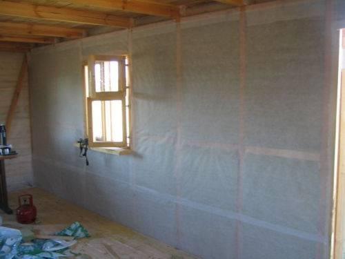 Ветрозащита для стен каркасного дома