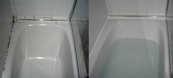 Мс полимерный герметик для ванной