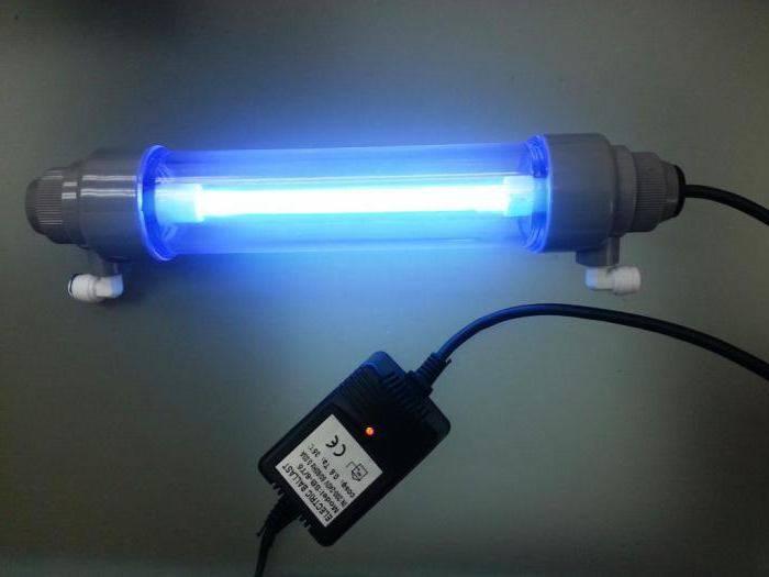Ультрафиолетовая лампа для дезинфекции помещений