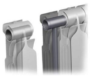 Алюминиевые радиаторы отопления расчет количества секций