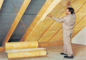 Утепление второго этажа деревянного дома