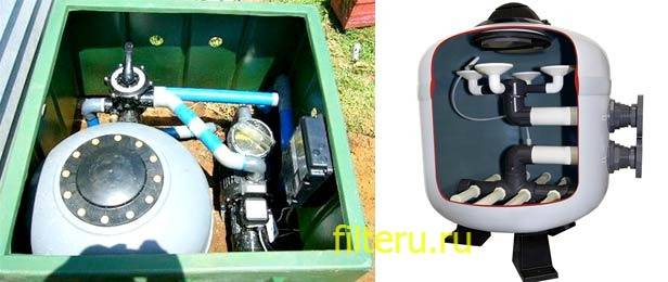 Песочный фильтр для воды