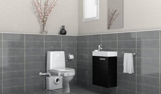 Насос для туалета с измельчителем