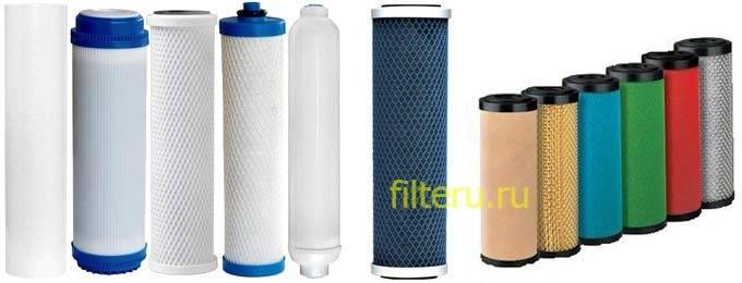 Корпуса фильтров для очистки воды
