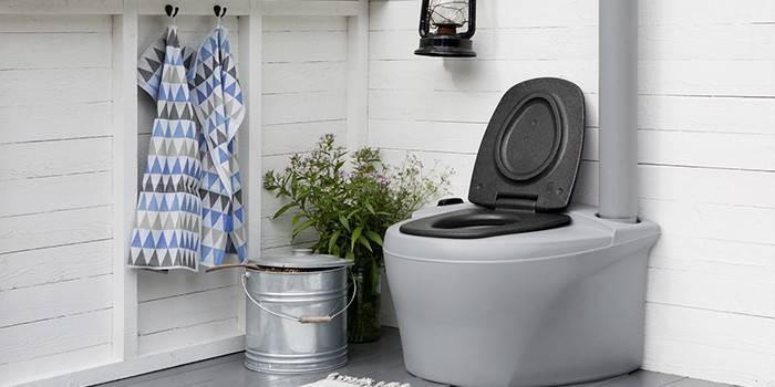 Торфяной туалет для дачи финский