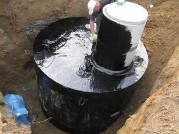 Как сделать выгребную яму на даче