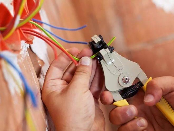 Схема эл проводки в частном доме