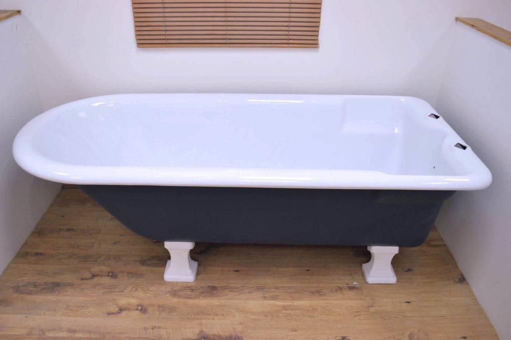 Размер стандартной чугунной ванны