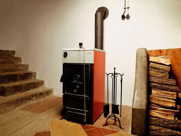 Котлы отопления на дровах