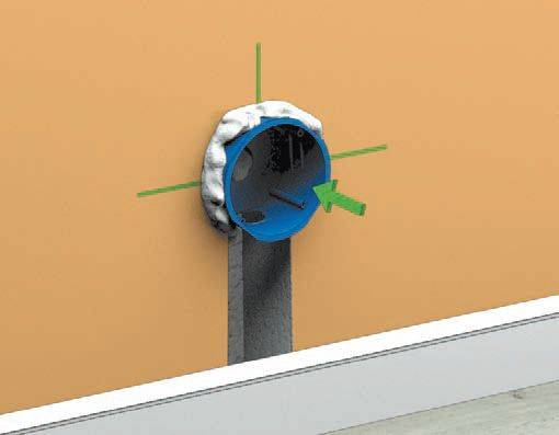 Коробки для выключателей и розеток