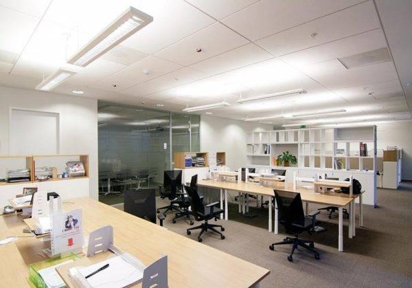 Нормы освещенности рабочего места