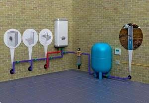 Как провести водопровод в дом из колодца